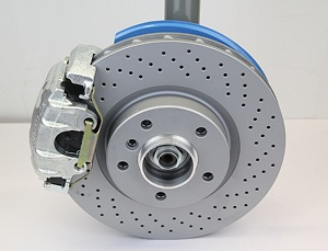 315/294mm Brake Kit with BMW 540i Calipers