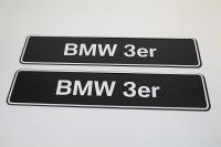 Showroom Kennzeichen BMW 3er