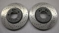 Brake Discs 300x28 perforated for M3 E30