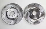 Brake Discs 312x25mm perforated 4x100