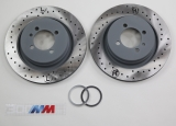 Brake Discs 294x19mm perforated